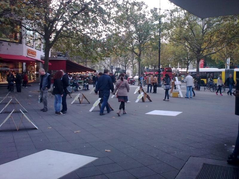 Berlin - Joachimsthaler Platz - 18. Oktober 2014